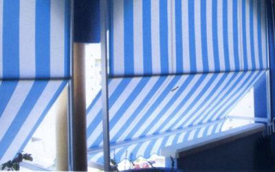 Tenda T/4 la tenda da sole per balconi battuti dal vento